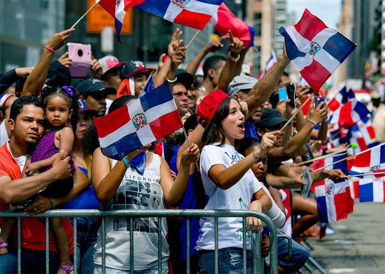 Dominican Day Parade. Courtesy of the Parade.