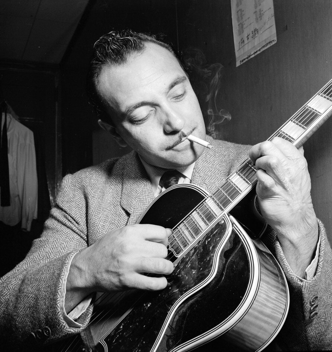 Django Reinhardt by William P. Gottlieb