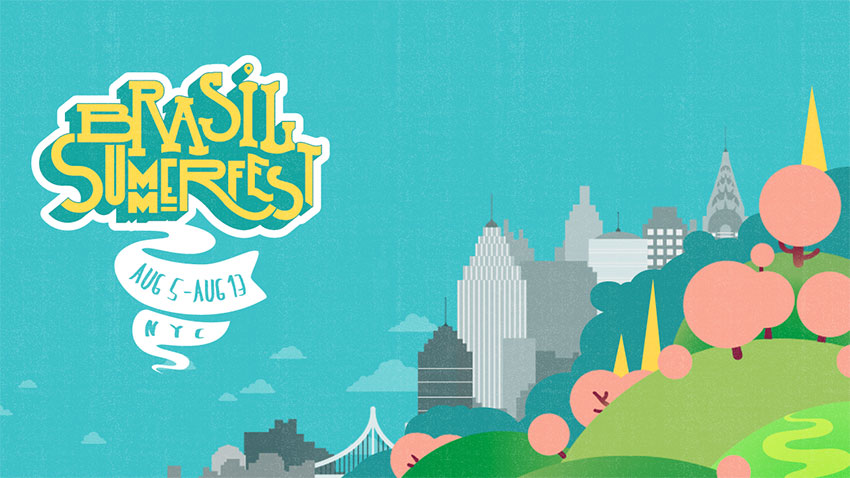 Brasil Summerfest 2017 is the biggest Brazilian music festival outside Brazil