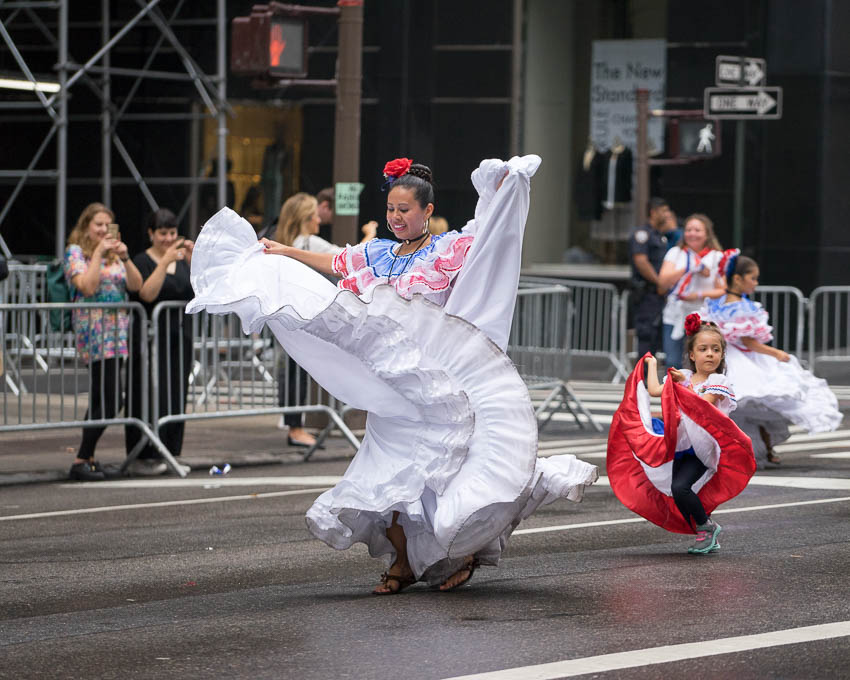 NYC Hispanic Day Parade 2017 by Keith Widyolar