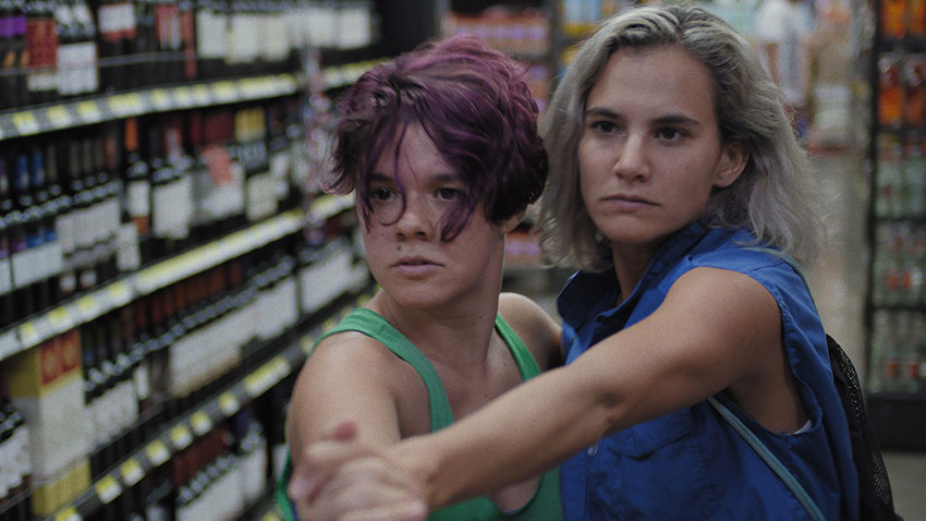 Adriana Alvarez & Natalia Arias in 'Lightning Falls Behind.' Courtesy of Julio Hernández Cordón / Film Society.