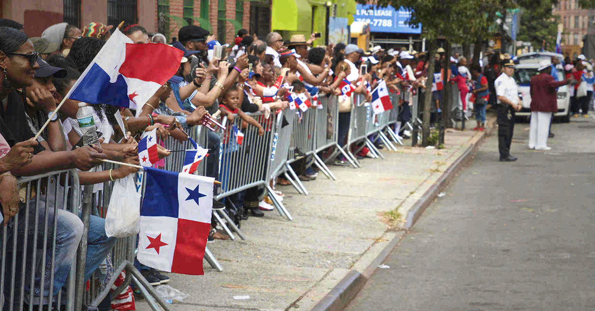 Panamanian Parade. Courtesy of the DICPNY.