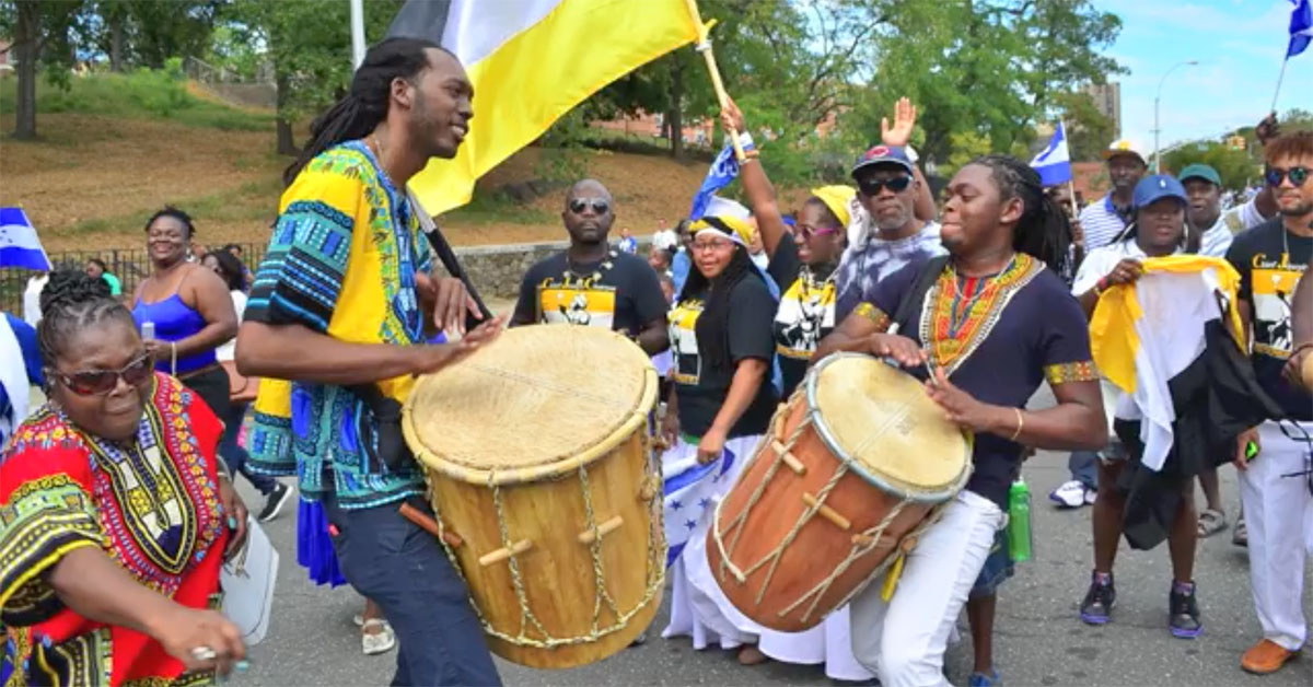 Central American Independence Parade. Courtesy Being Garifuna.