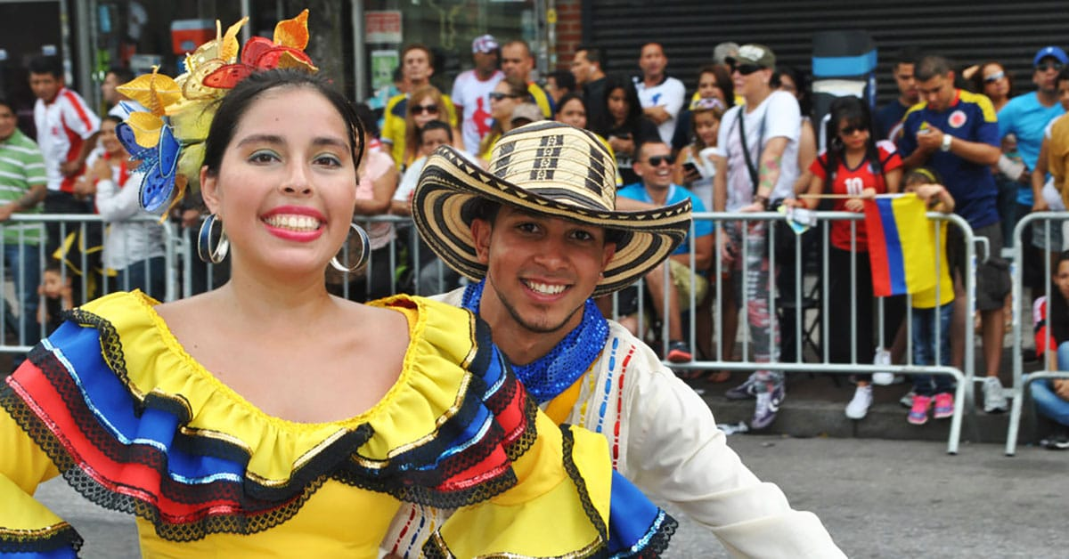 Colombian Parade. Courtesy Desfile Colombiano New York.