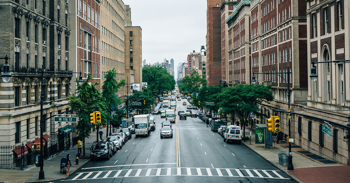 Broadway at 116th St in Morningside Heights, New York City (Jon Bilous/Dreamstime)