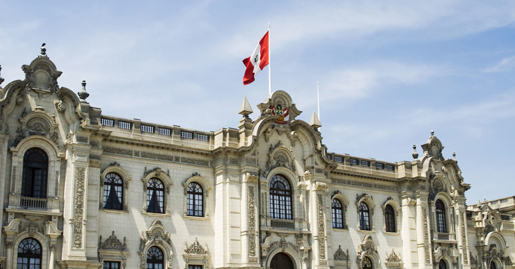 Peruvian Independence Day at the Presidential Palace in Lima (Robert Lerich/Dreamstime)