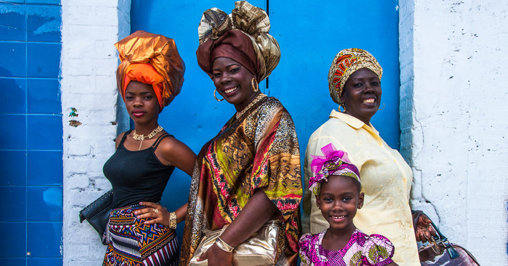 Women of Trinidad and Tobago (Granderiviere/Dreamstime)